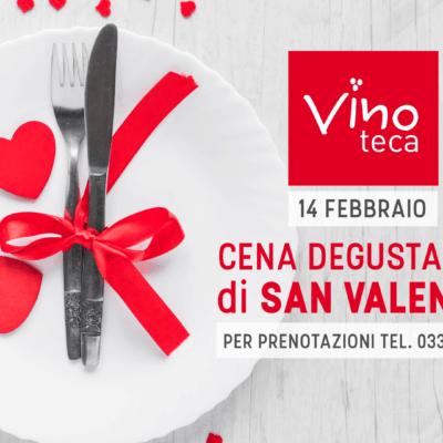 Cena San Valentino 2018 - Vinoteca Legnano