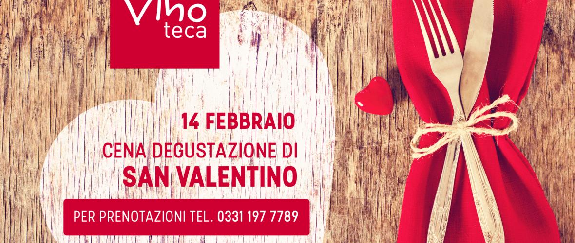 Cena San Valentino 2019 Vinoteca Legnano